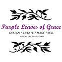 Purple Leaves of Grace